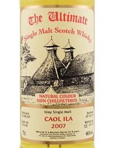 Whiskey Single Malt - Single Malt Scotch Whisky 'Caol Ila' 2007 (700 ml. boxed) - The Ultimate - The Ultimate - 3