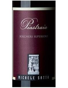 Vini Rossi - Bolgheri Rosso Superiore DOC 'Piastraia' 2017 (750 ml.) - Michele Satta - Michele Satta  - 2