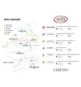 Champagne - Journey into Champagne - Tasting Set of 6 bottles (6x750 ml.) - Ceretto Terroirs - Ceretto - 2