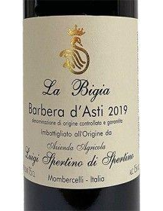 Red Wines - Barbera d'Asti DOCG 'La Bigia' 2019 (750 ml.) - Luigi Spertino - Luigi Spertino - 2