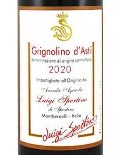 Vini Rossi - Grignolino d'Asti DOC 2020 (750 ml.) - Luigi Spertino - Luigi Spertino - 2