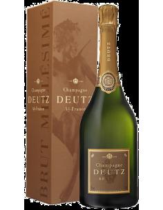 Champagne Blanc de Blancs - Champagne Brut Millesimato 2014 (750 ml. astuccio) - Deutz - Deutz - 1