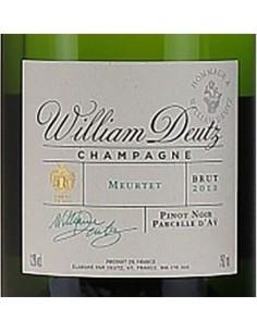 Champagne Blanc de Noirs - Champagne Hommage a William Deutz 'Meurtet' 2012 (750 ml. casket) - Deutz - Deutz - 3