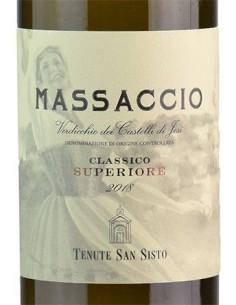 White Wines - Verdicchio dei Castelli di Jesi Classico Superiore DOC 'Massaccio' 2018 (750 ml.) - Tenute San Sisto - Tenute San