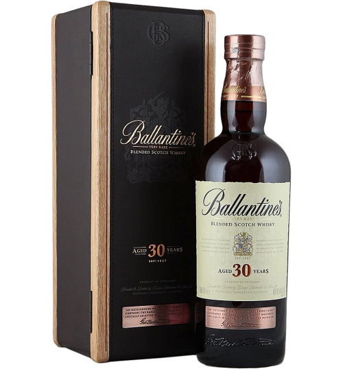 Whisky Blended - Blended Scotch Whisky 30 Years Old (700 ml. deluxe gift box) - Ballantine's - Ballantine's - 1