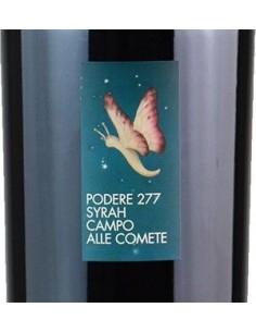 Red Wines - Toscana IGT 'Podere 277' Syrah 2018 (750 ml.) - Campo alle Comete - Campo alle Comete - 2