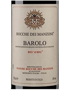 Red Wines - Barolo DOCG 'Big 'd Big' 2014 (750 ml.) - Rocche dei Manzoni - Rocche dei Manzoni - 2