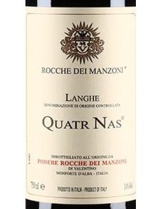 Red Wines - Langhe Rosso DOC 'Quatr Nas' 2012 (750 ml.) - Rocche dei Manzoni - Rocche dei Manzoni - 2