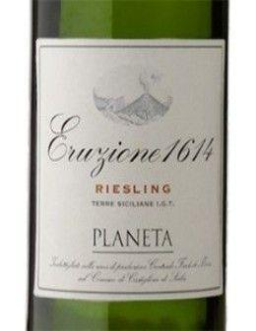 White Wines - Terre Siciliane Riesling IGT 'Eruzione 1614' 2018 (750 ml.) - Planeta - Planeta - 2