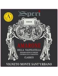 Red Wines - Amarone della Valpolicella Classico DOCG 'Vigneto Monte Sant'Urbano' 2016 (750 ml.) - Speri - Speri - 2