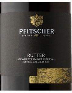 White Wines - Alto Adige Gewurztraminer DOC Riserva 'Rutter' 2018 (750 ml.) - Pfitscher - Pfitscher - 2