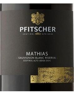 Vini Bianchi - Alto Adige Sauvignon Blanc DOC Riserva 'Mathias' 2018 (750 ml.) - Pfitscher - Pfitscher - 2