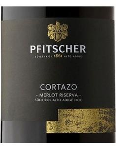 Vini Rossi - Alto Adige Merlot DOC Riserva 'Cortazo' 2018 (750 ml.) - Pfitscher - Pfitscher - 2