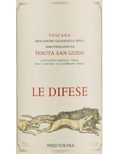 Red Wines - Toscana IGT 'Le Difese' 2019 (750 ml.) - Tenuta San Guido - Tenuta San Guido - 2