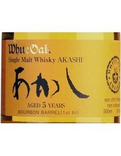 Whisky Single Malt - Single Malt '5 Years Old' Japanese Whisky (500 ml. astuccio) - White Oak Distillery - Akashi - Akashi - 3