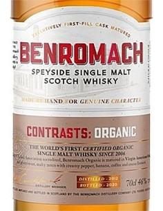 Whiskey Single Malt - Single Malt Scotch Whisky Speyside 'Organic 2012' (700 ml. boxed) - Benromach - Benromach - 3