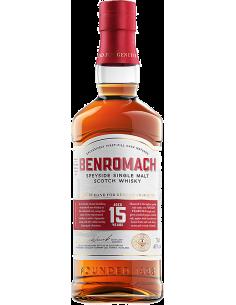 Whiskey Single Malt - Single Malt Scotch Whisky Speyside '15 Years Old' (700 ml. boxed) - Benromach - Benromach - 2