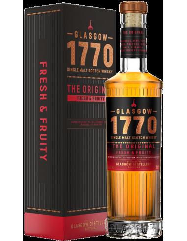 Whiskey Single Malt - Single Malt Scotch Whisky 'The Original' (500 ml. boxed) - 1770 Glasgow - 1770 Glasgow - 1