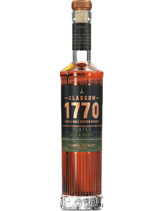 Peaty Whiskey - Single Malt Scotch Whisky 'Peated' (500 ml. boxed) - 1770 Glasgow - 1770 Glasgow - 2