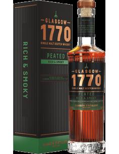 Peaty Whiskey - Single Malt Scotch Whisky 'Peated' (500 ml. boxed) - 1770 Glasgow - 1770 Glasgow - 1