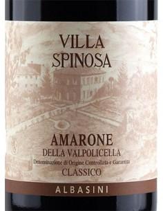 Red Wines - Amarone della Valpolicella Classico DOCG 'Albasini' 2011 (750 ml.) - Villa Spinosa - Villa Spinosa - 2