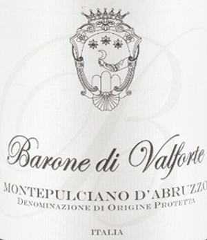 Montepulciano-Abruzzo-Barone-Valforte-et
