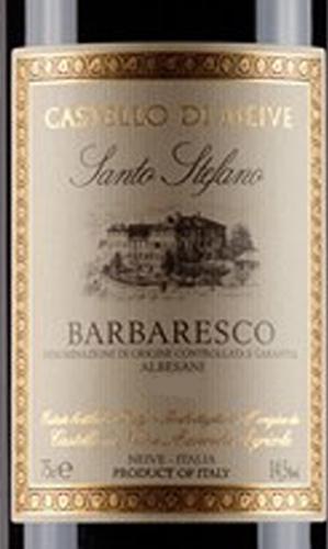Barbaresco_Santo Stefano Albesani_etiche