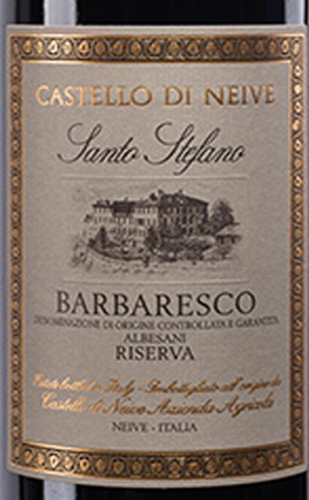Barbaresco_Santo Stefano Albesani_riserv